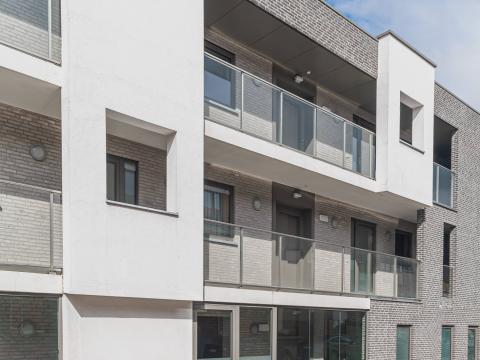 appartement, modern, nieuwbouw, gesloten